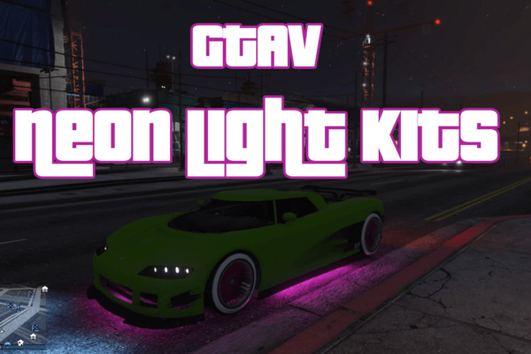 GTAV Neon Light Kits Preview on the EntityXF Supercar