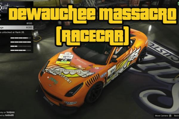 Dewbauchee Massacro RaceCar
