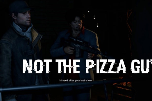 Watch Dogs Act 1 Not The Pizza Guy