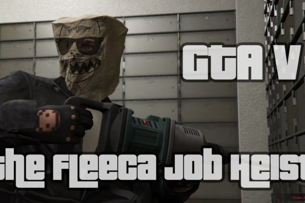The Fleeca Job Heist GTA 5