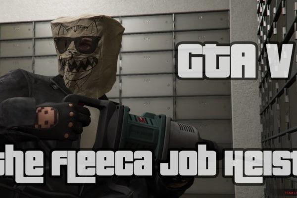 The Fleeca Job Heist GTA 5