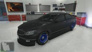 Benefactor Schafter GTA V Racing