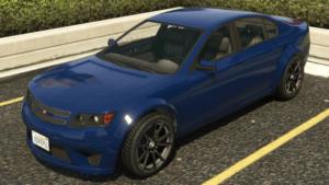 Cheval Fugitive on GTA V Fastest Sedans