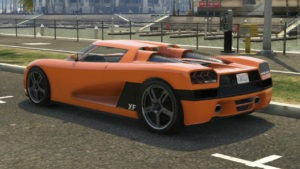 Entity XF GTA V Super Car