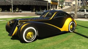 Truffade Z Type Sports Classic Racing Car GTA 5