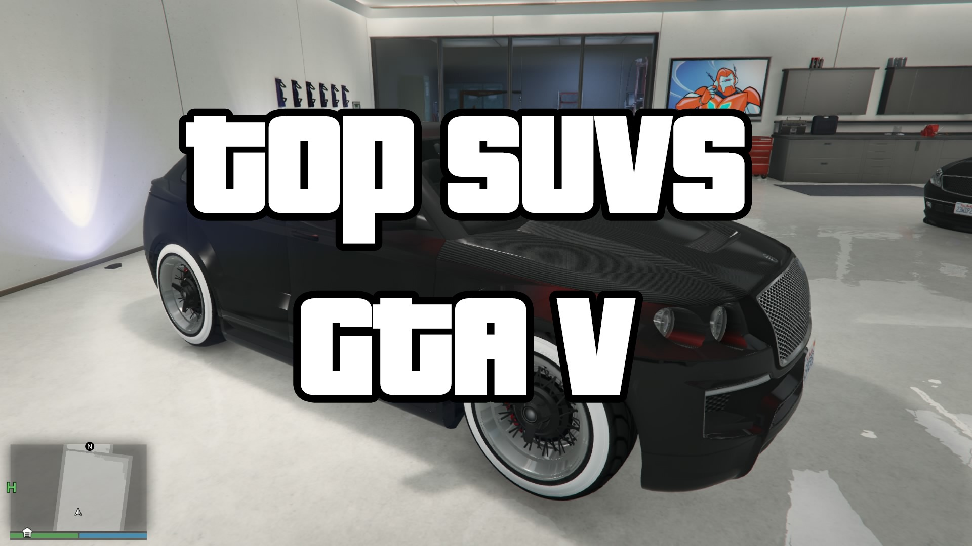 Best and Top SUVs GTA V for Racing