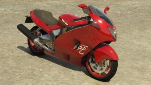 Shitzu Hakuchou GTA V Racing Motorcycle