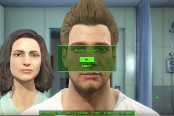 Fallout 4 Character Creation Starting Gameplay