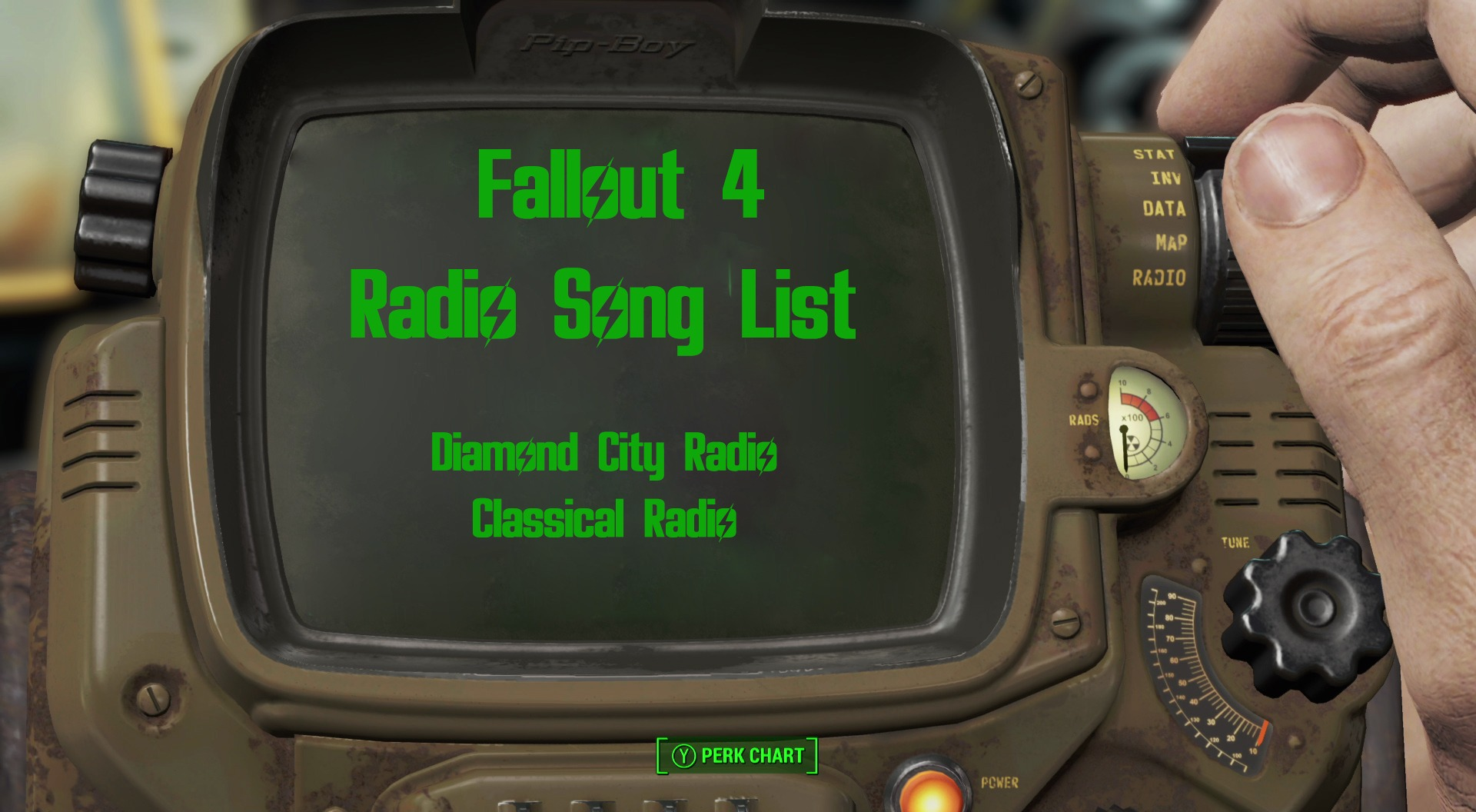 Fallout 4 Radios Songs List -Diamond City and Classical Radio Stations