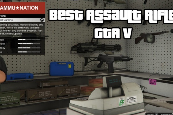 Best Assault Rifles GTA V