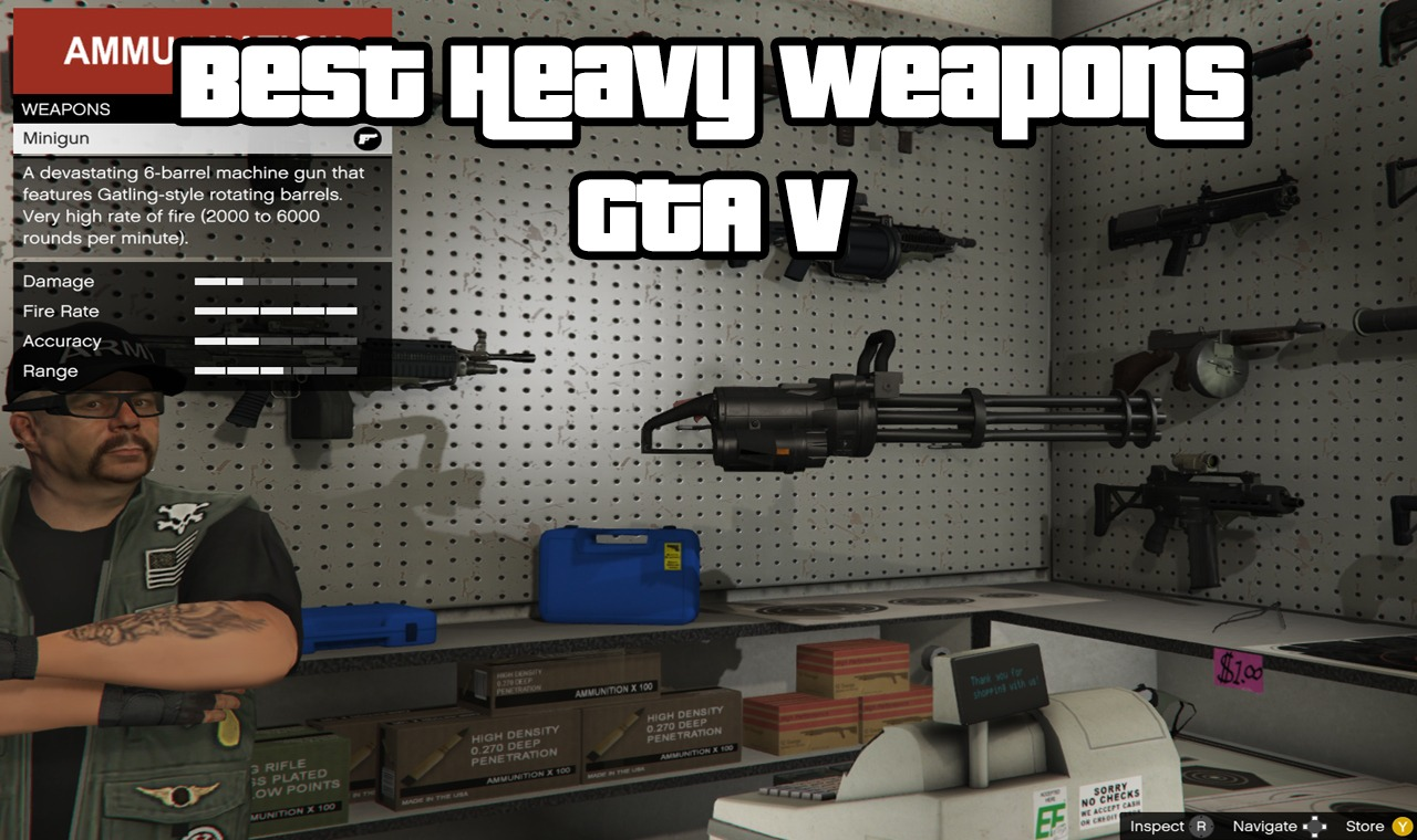 Best Heavy Weapons GTA V
