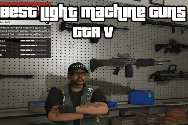 Best Light Machine Guns (LMG) GTA V