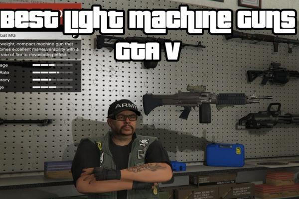 Best Light Machine Guns (LMG) GTA V