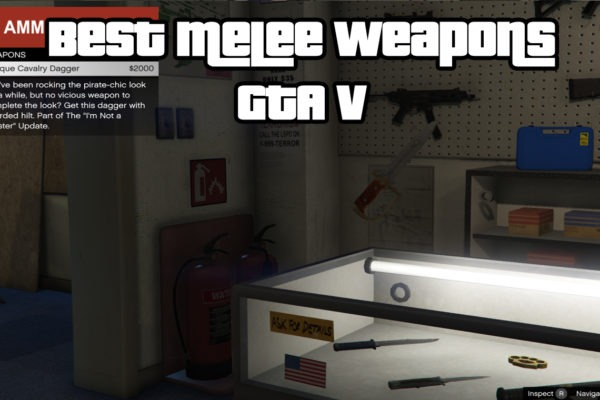 Best Melee Weapons GTA V