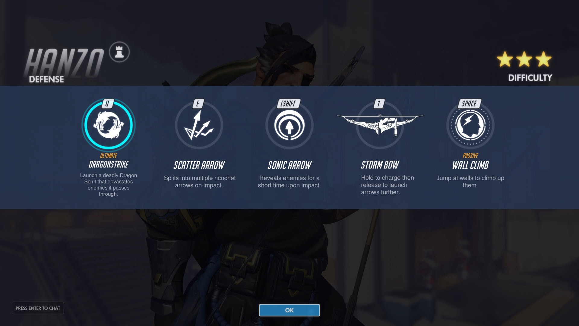 Hanzo Defence Abilities Overwatch