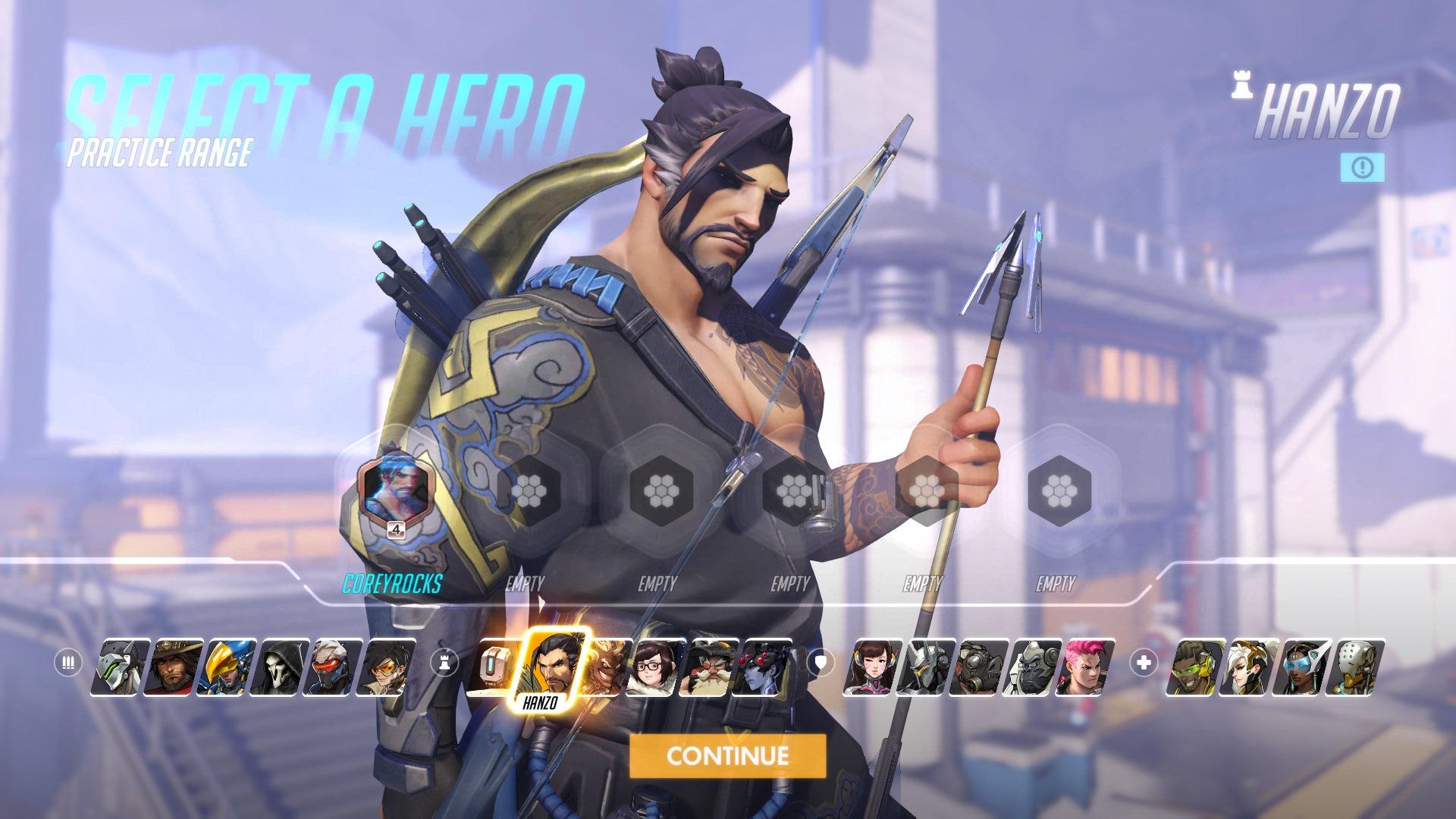 Hanzo Overwatch Hero
