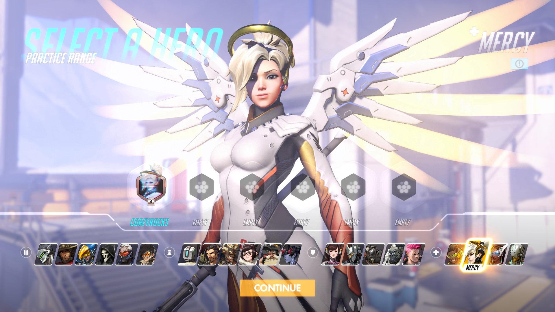 Mercy Overwatch Hero