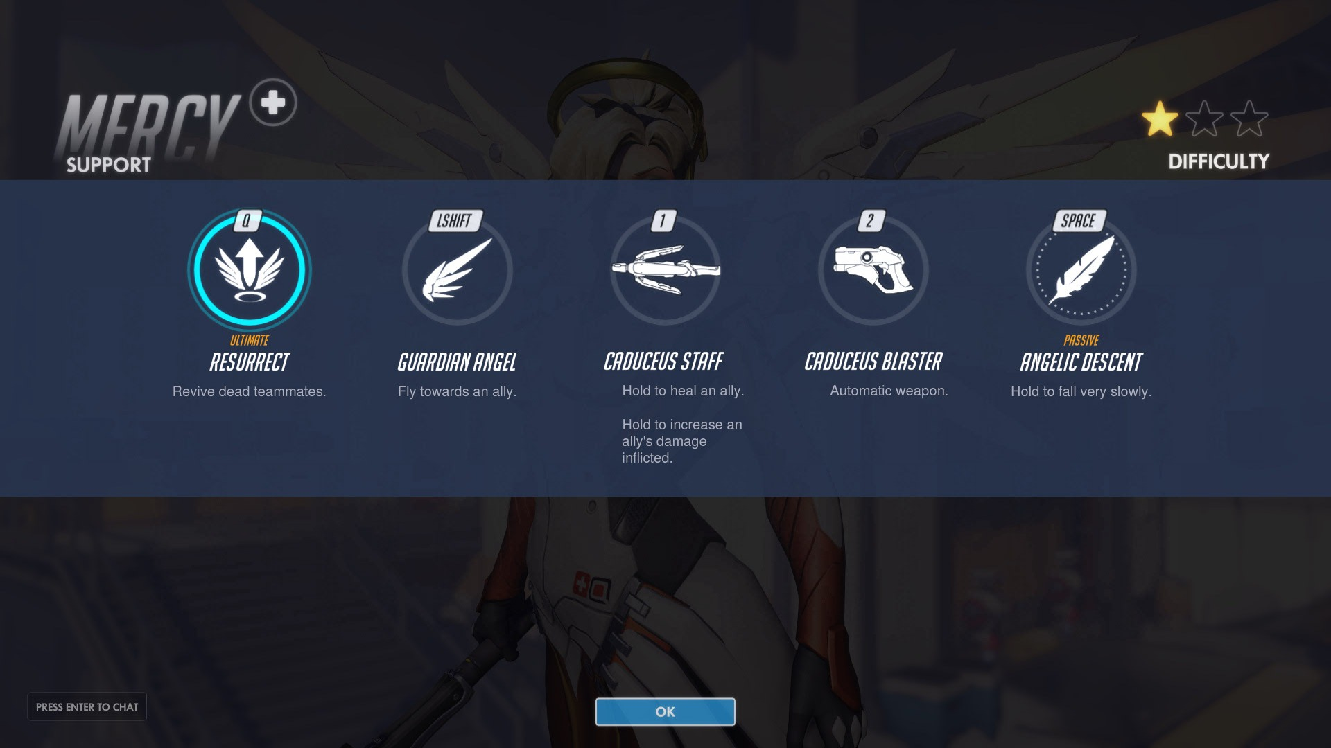 Mercy Support Abilities Overwatch
