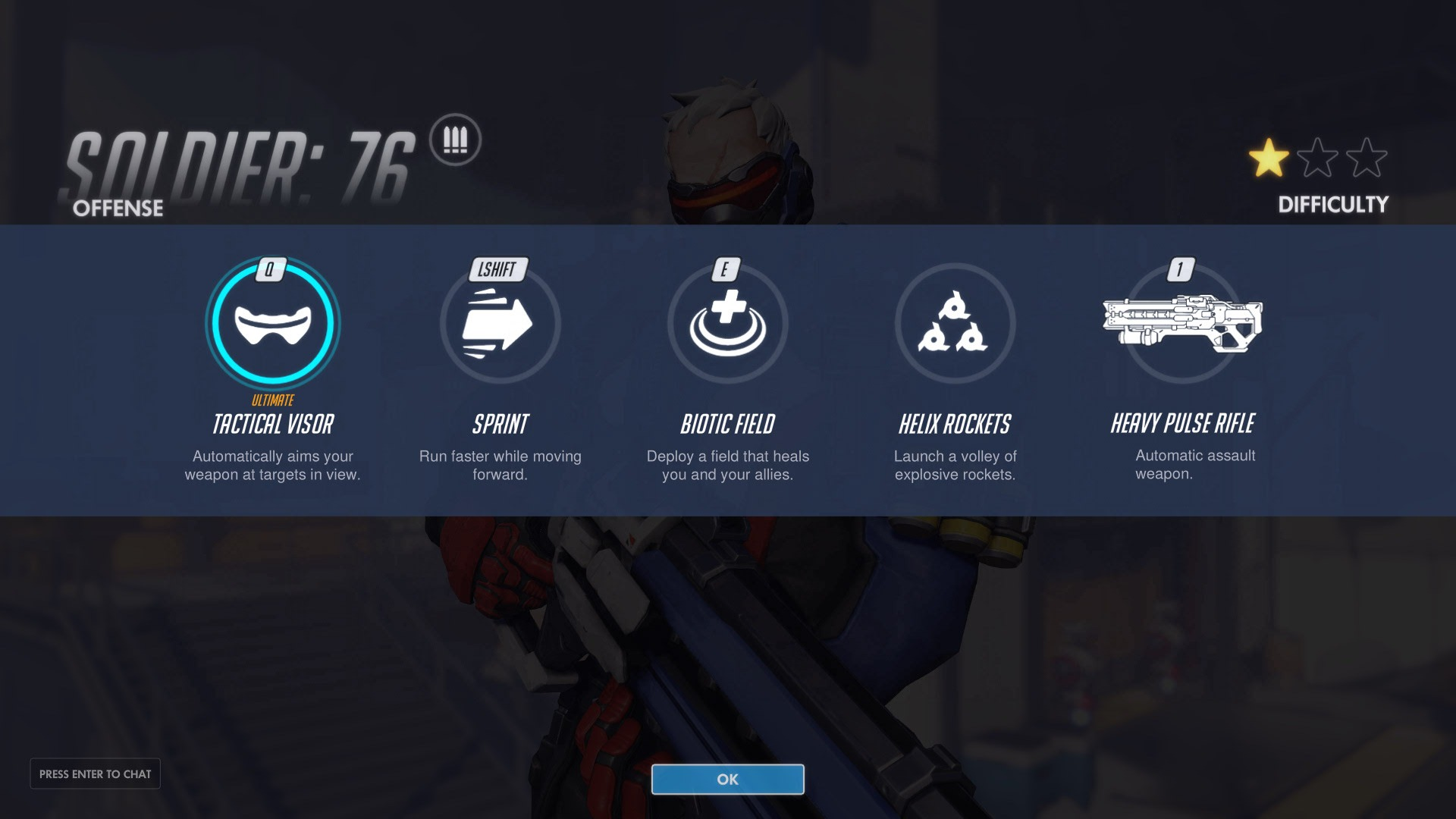 Soldier 76 Offense Abilities Overwatch