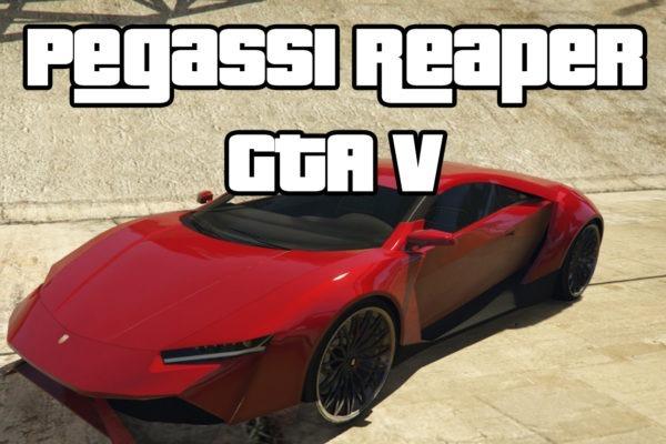 Pegassi Reaper GTAV Supercar