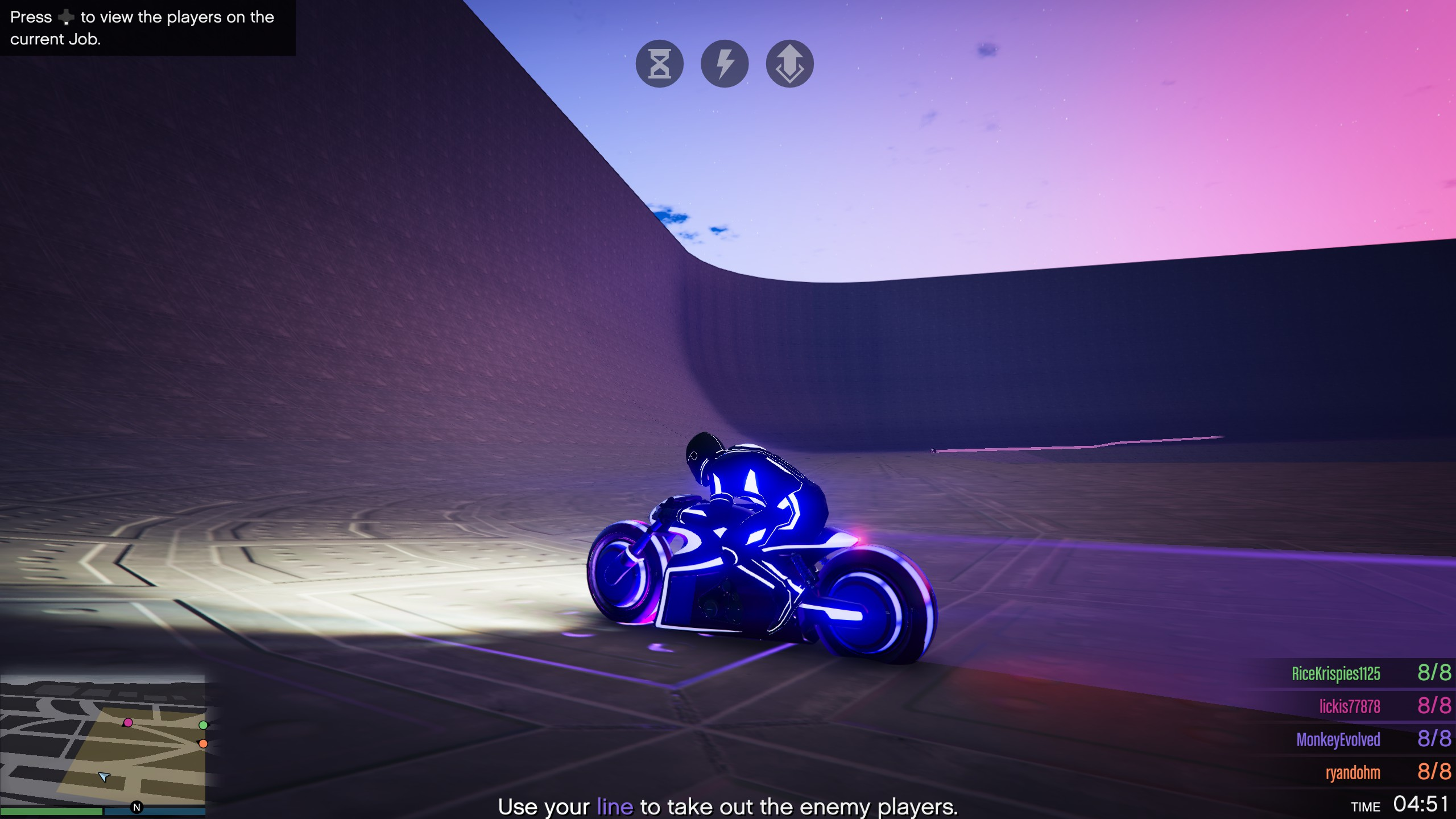 Nagasaki Shotaro / Tron Motorcycle (Deadline) GTA 5 - Newb Gaming