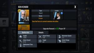 BEN KENOBI Best Rebel Alliance Desk Star Wars Force Arena