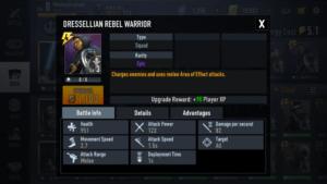 DRESSLLIAN REBEL WARRIOR Best Rebel Alliance Desk Star Wars Force Arena