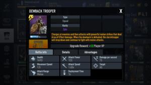 Dewback Trooper Star Wars Force Arena Best Decks