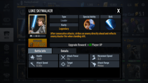 LUKE SKYWALKER Best Rebel Alliance Desk Star Wars Force Arena