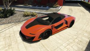 Progen Emerus - Best Super Car for Racing GTA V